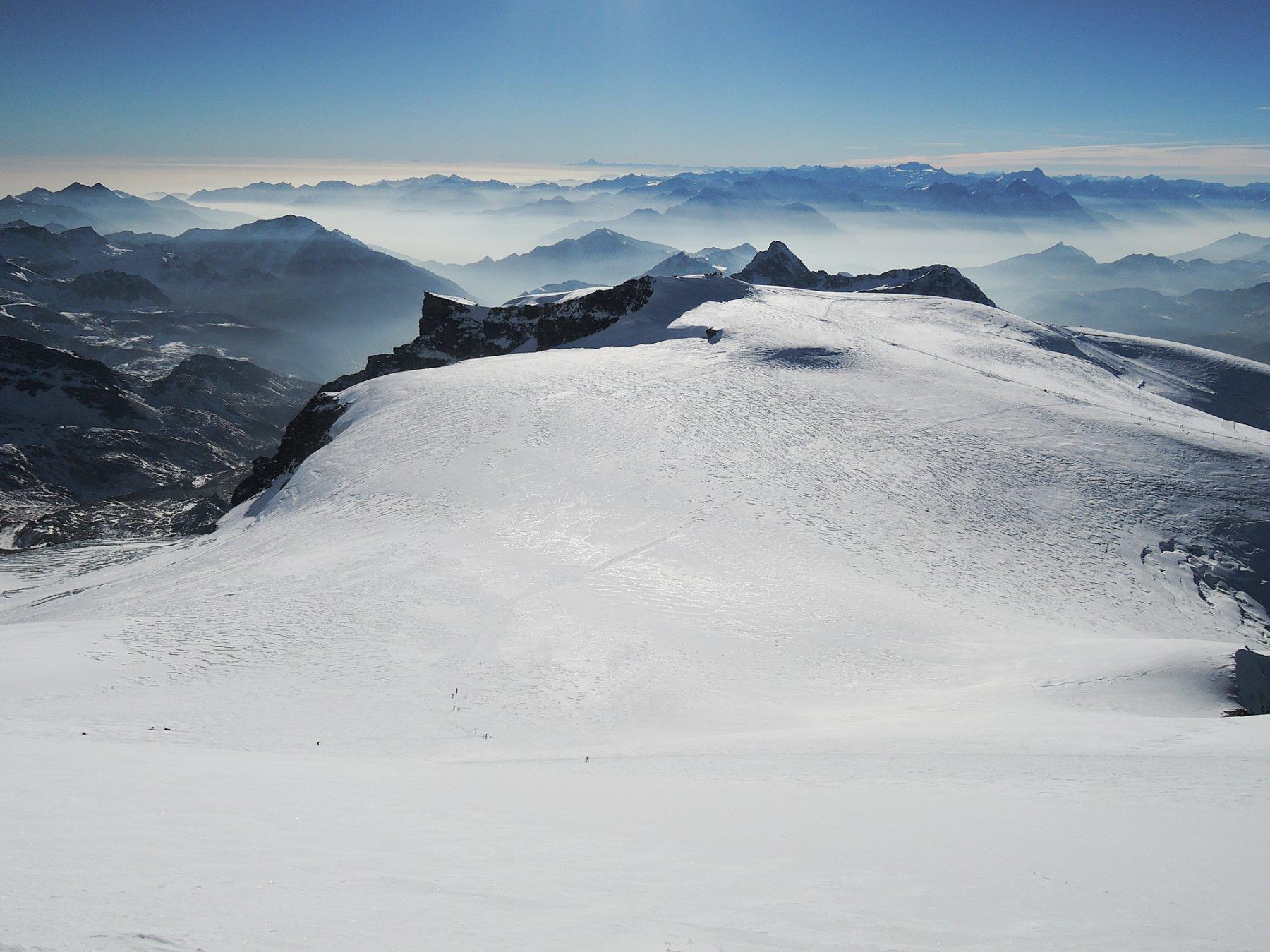 Plateau del Breithorn