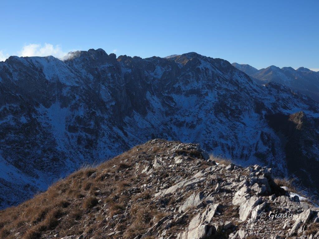 Vista verso Rocche di Peirabruna e Ciuaiera