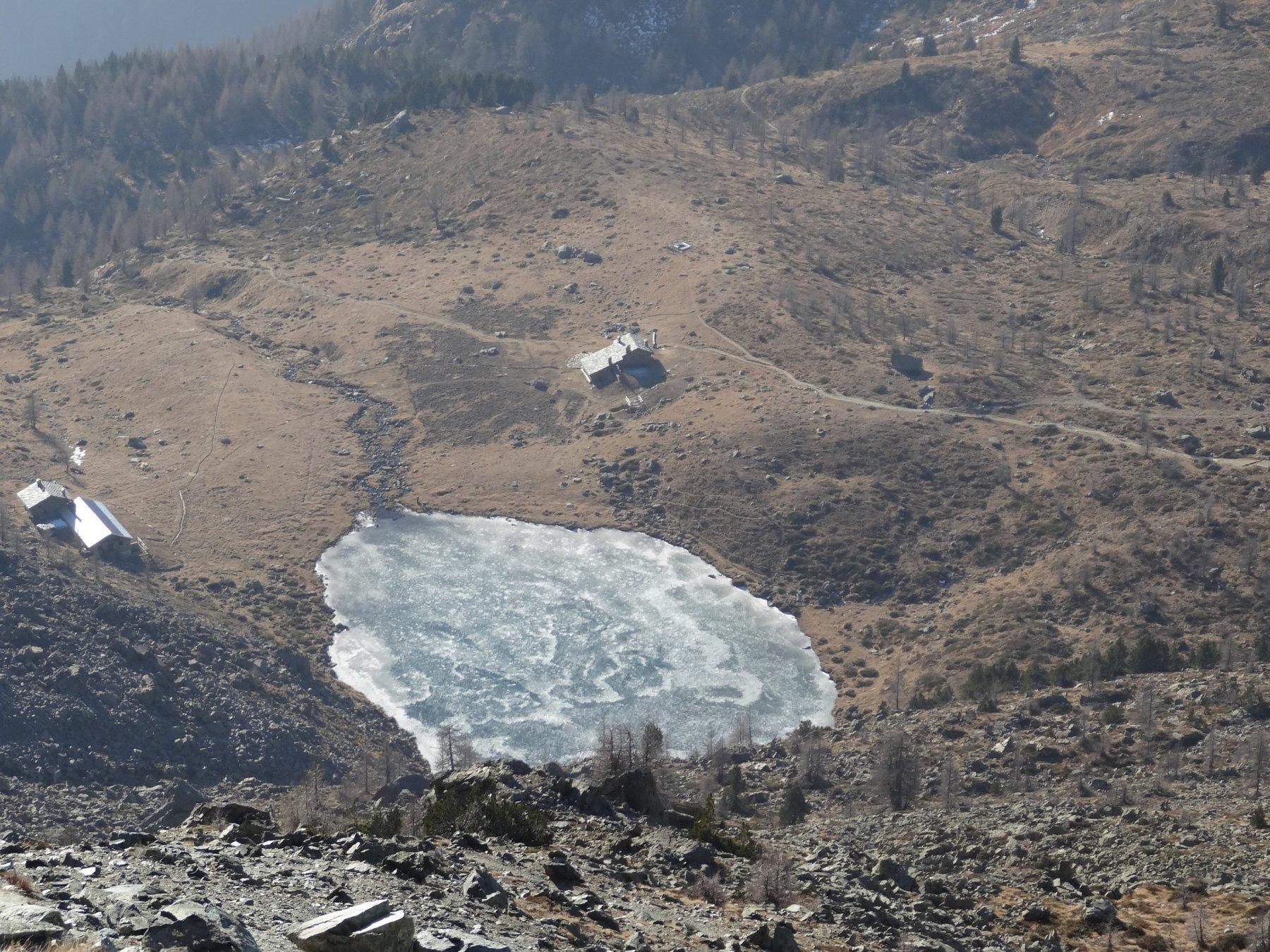 lago muffè dall'alto