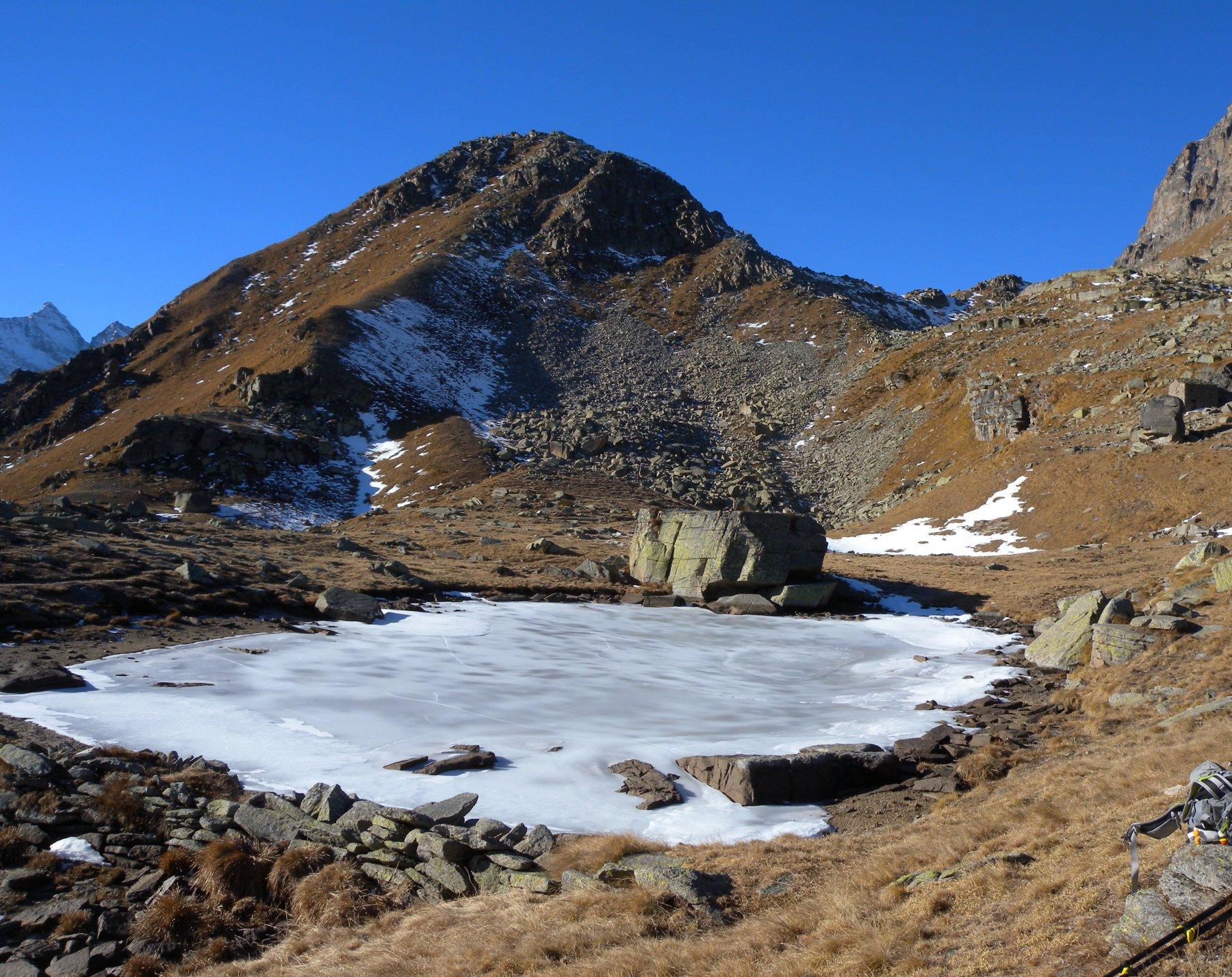 Laghetto gelato Alpe Loserai