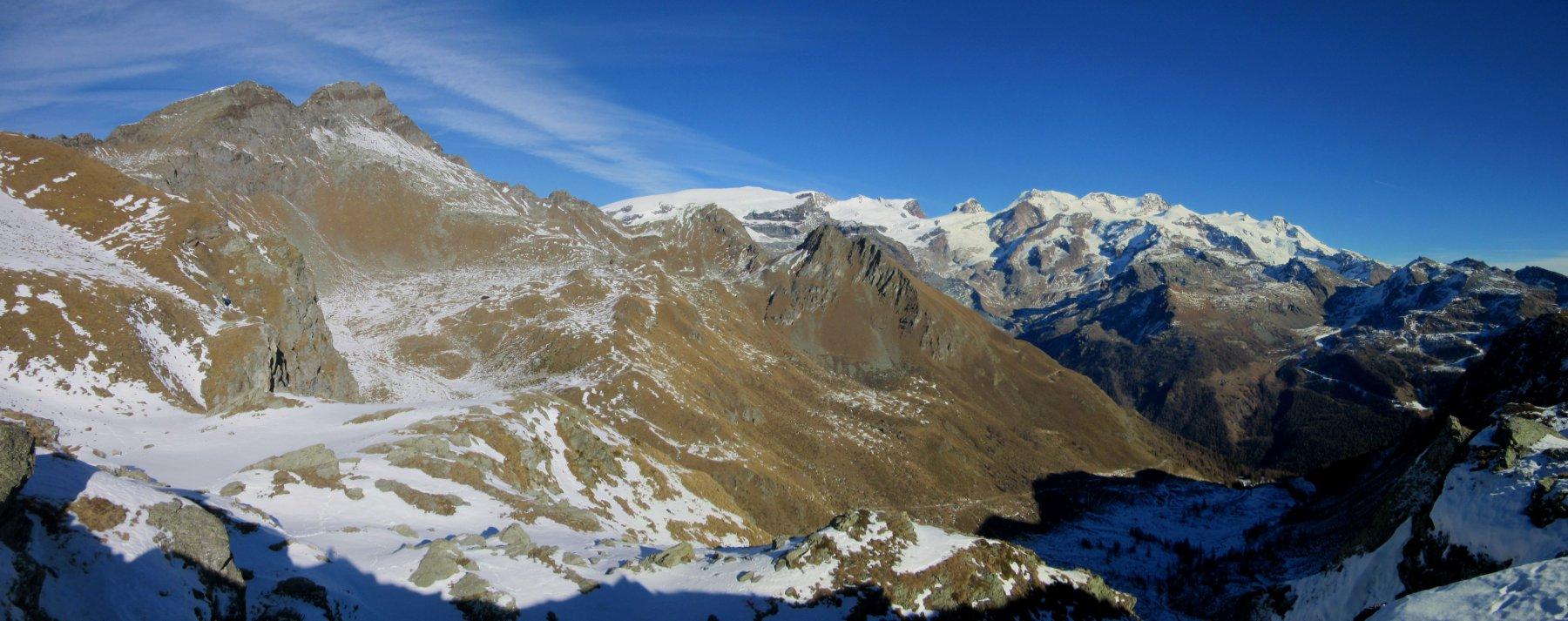 Panorama dal colle Vascoccia