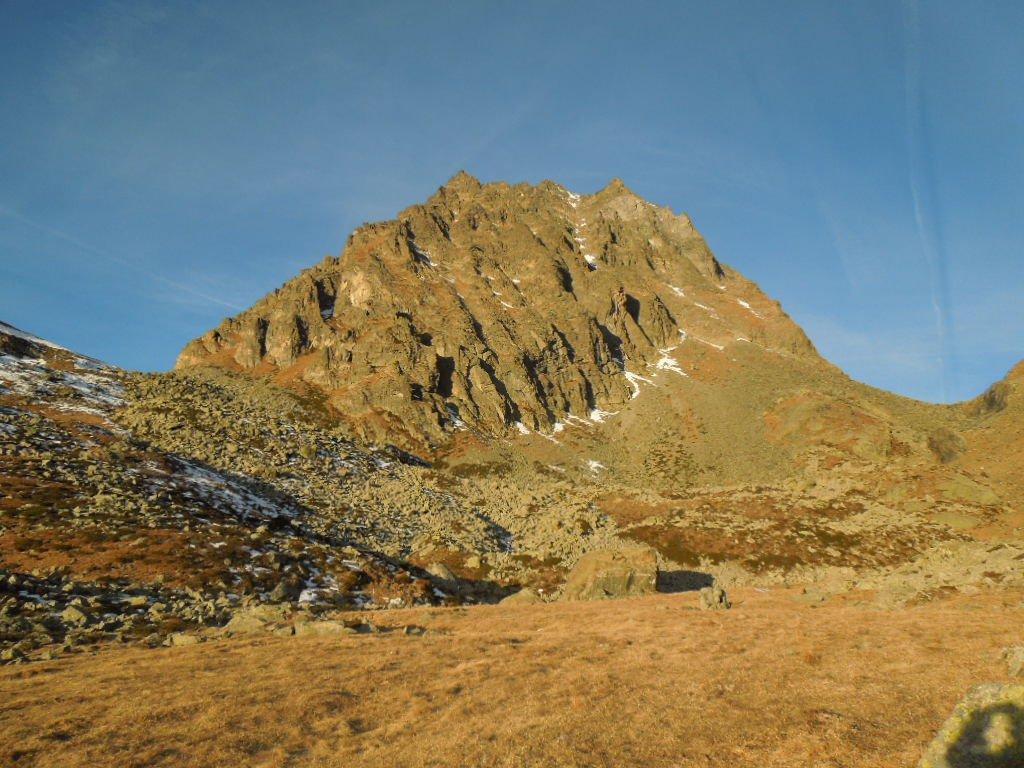 Ovarda (Torre d') Via Normale dal Vallone d'Ovarda 2015-12-22