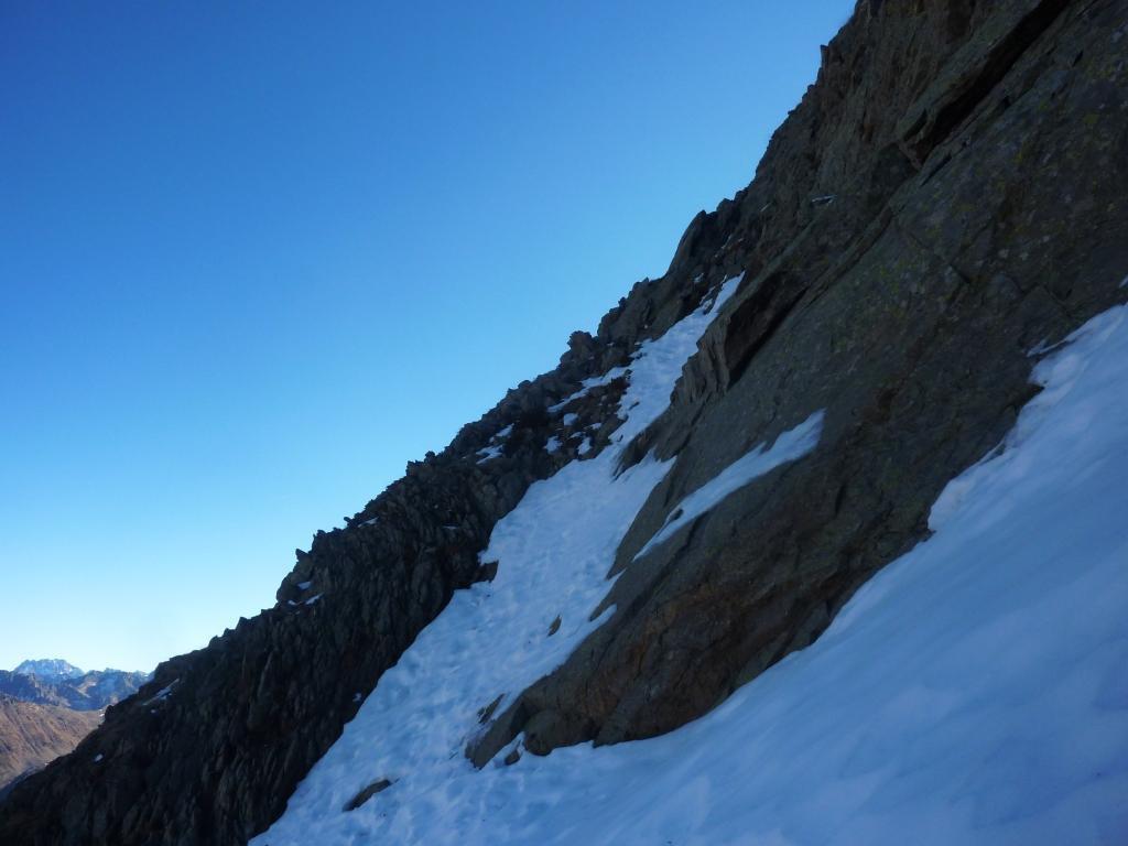 il saltino roccioso ( è più facile farlo che vederlo! )