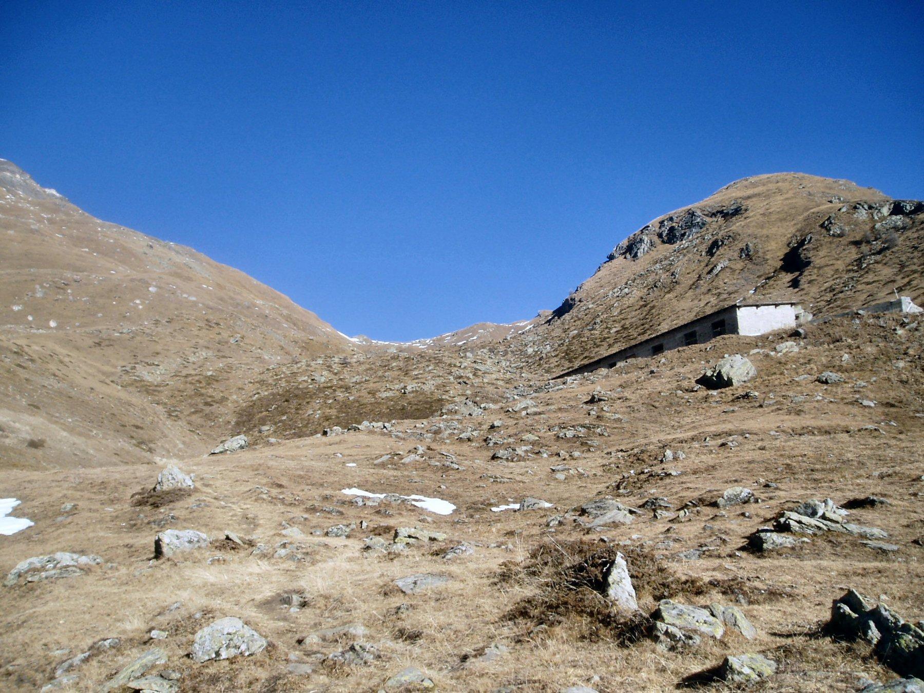 Colle Vascoccia dall'Alpeggio omonimo.