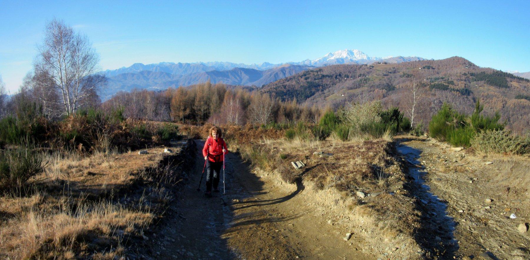 Salendo al Monte Falò