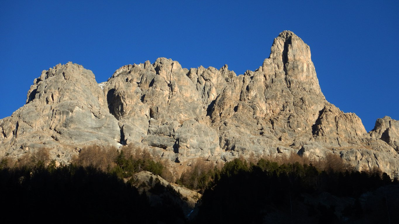 Ane (Col d') da le Pont de l'Alpe, giro della Arete de la Bruyere 2015-12-27