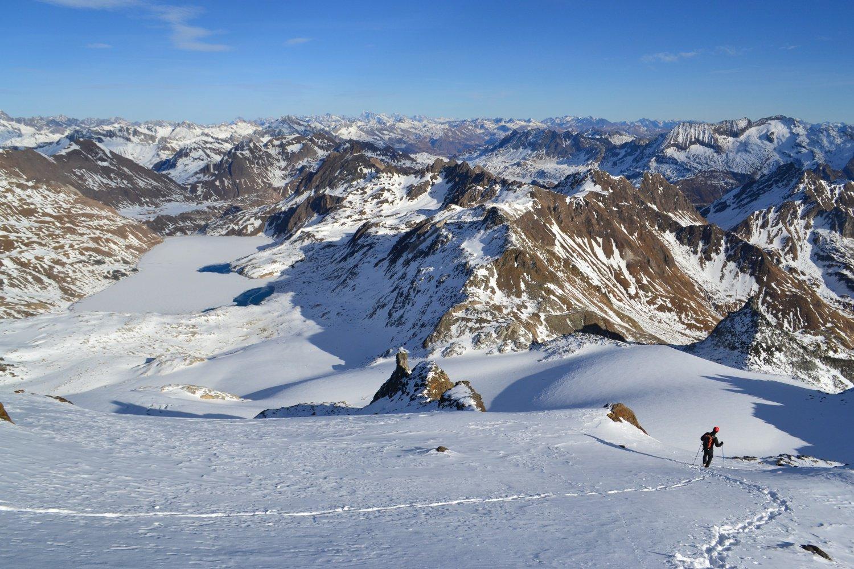 panorama verso il Ghiacciaio del Sabbione e la Val Formazza