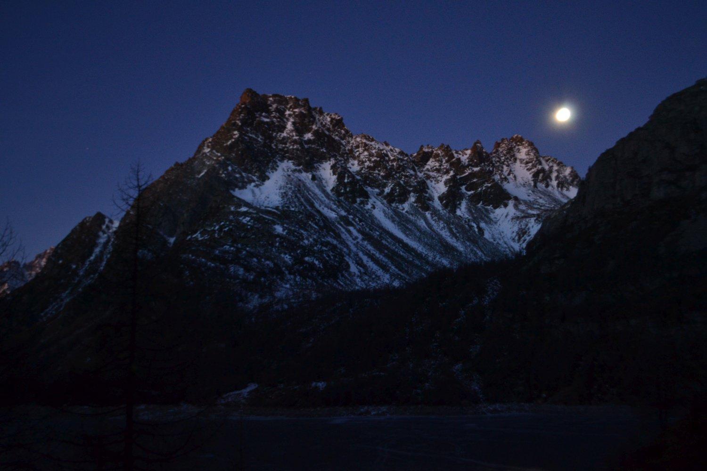 splendida luna piena