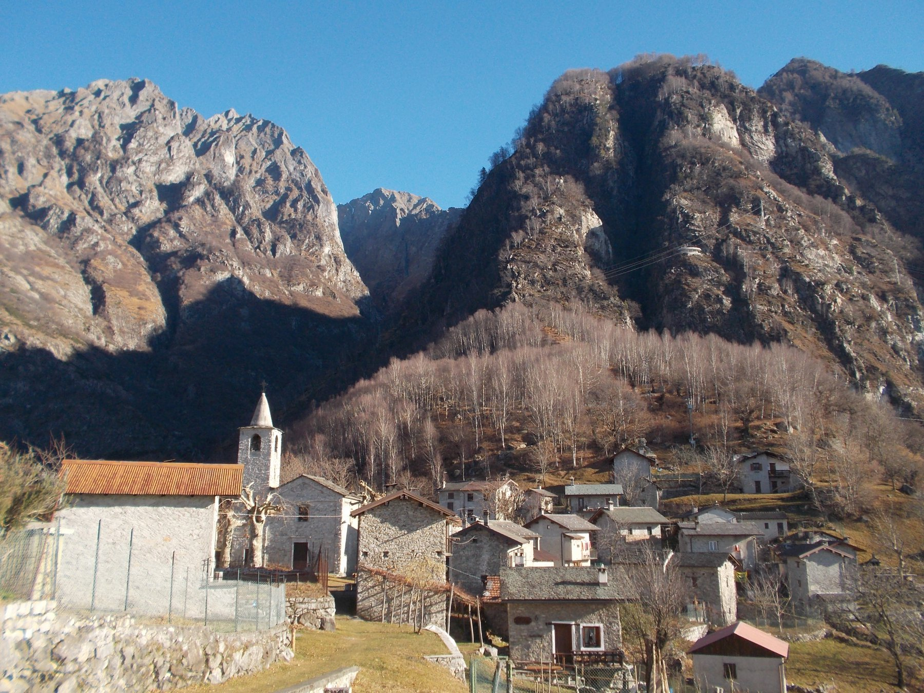 Codera (Val) e Val di Ratti Traversata con il Tracciolino 2015-12-27