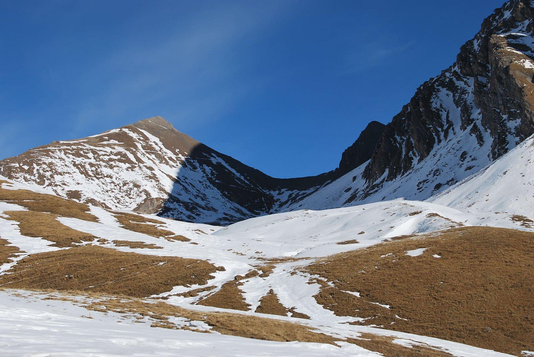Il Passo di Chavannes (o colle del Berrio Blanc) arrivando agli alpeggi del Berrio Blanc damon