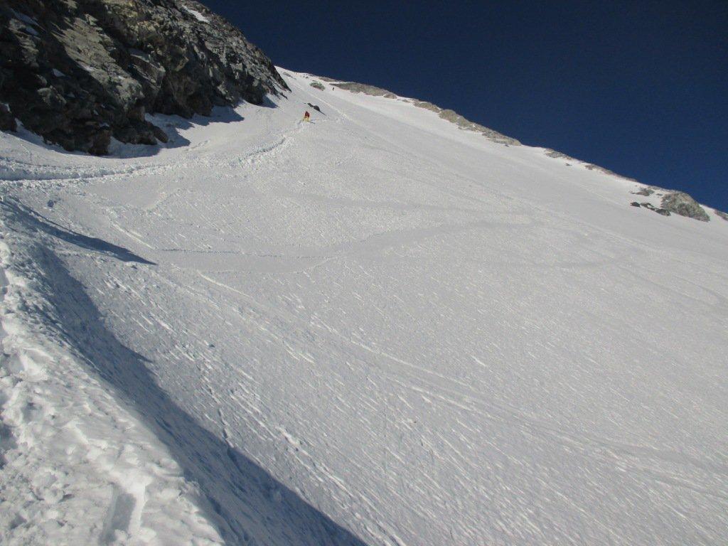 Gran Zebru' Via Normale dal Rifugio Pizzini 2015-12-27