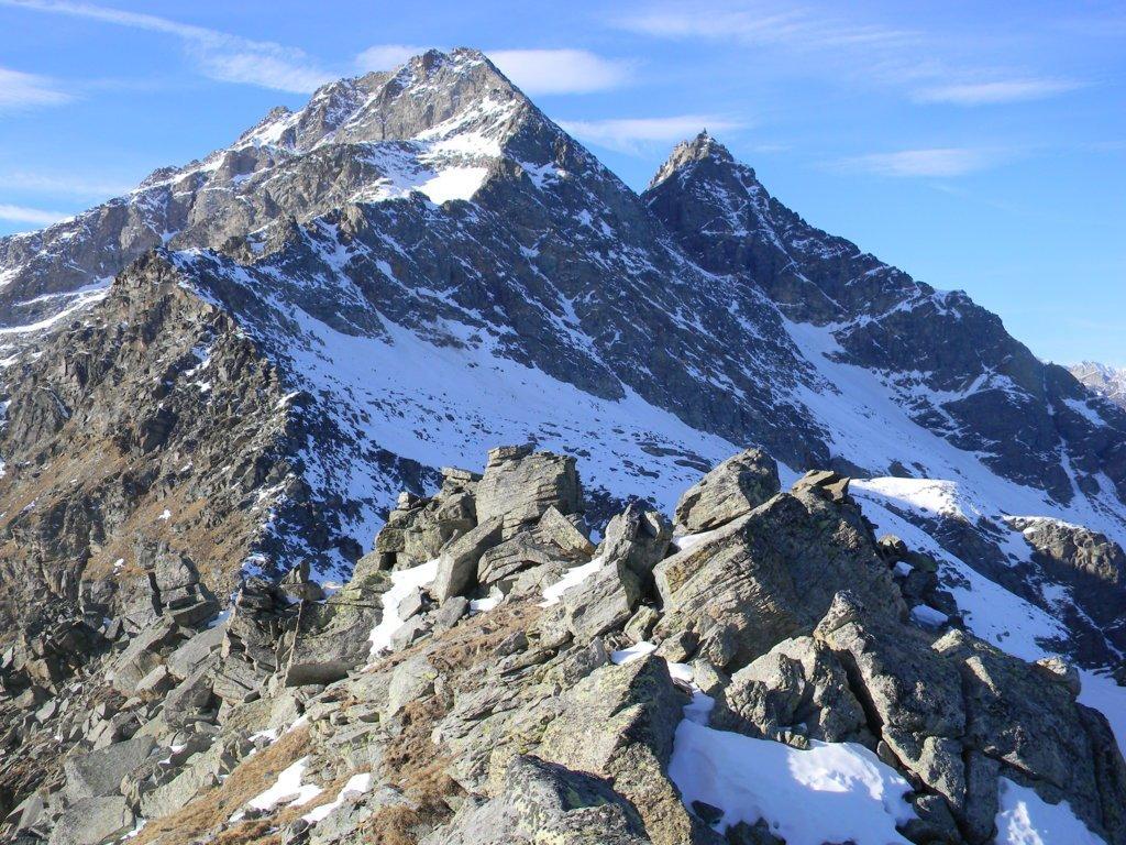 dalla cima verso le Levanne