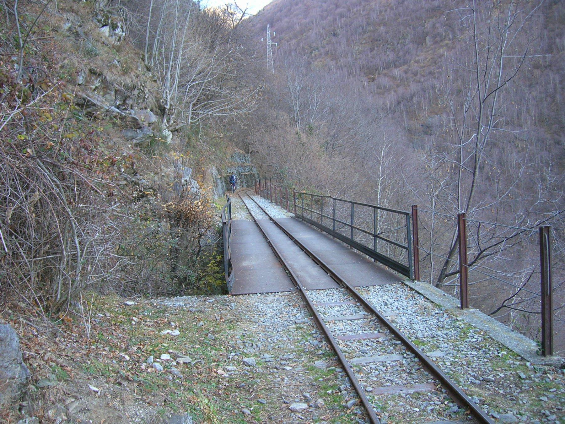 Verso la diga Moledana