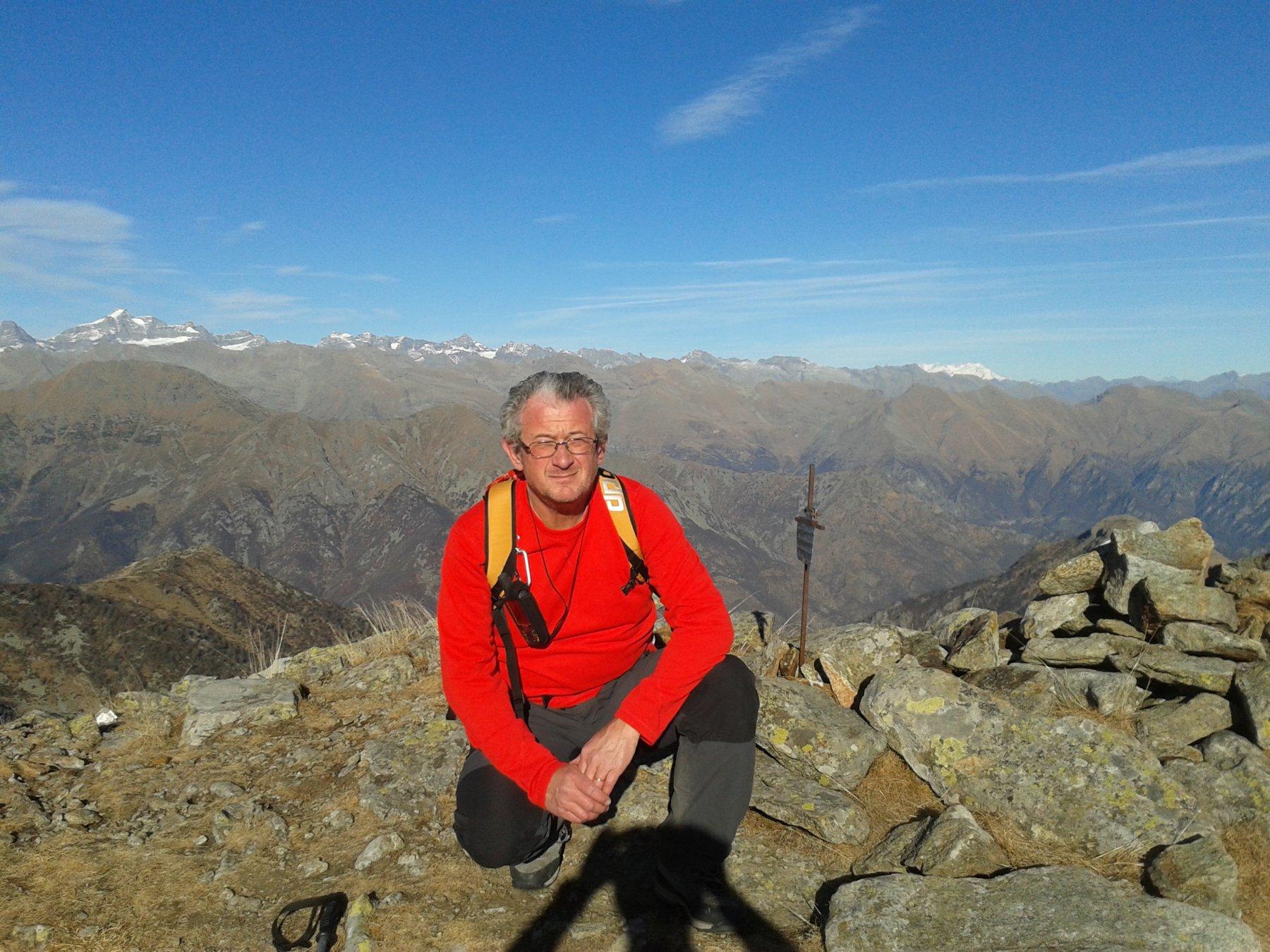 in vetta al monte Ciriunda