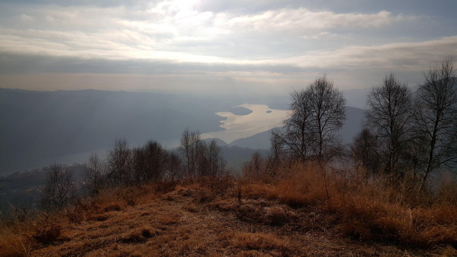 Vista sul lago D'Orta