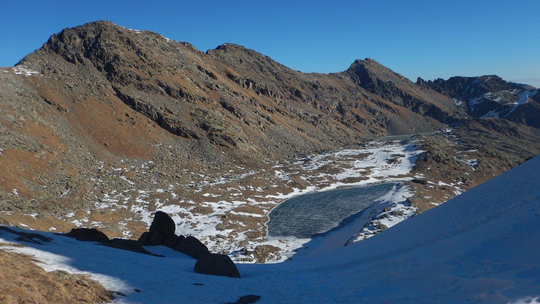 Lago Fertà dal Colle di Terra Fertà