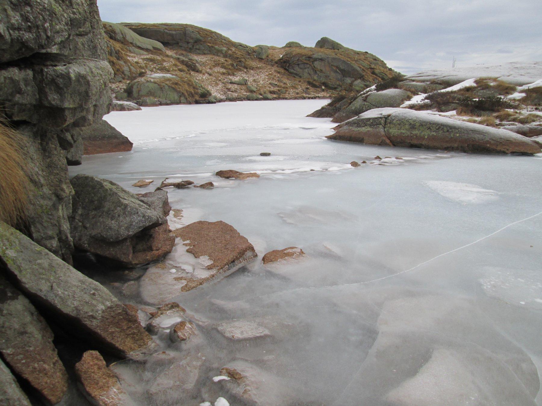 valutazione della consistenza del ghiaccio