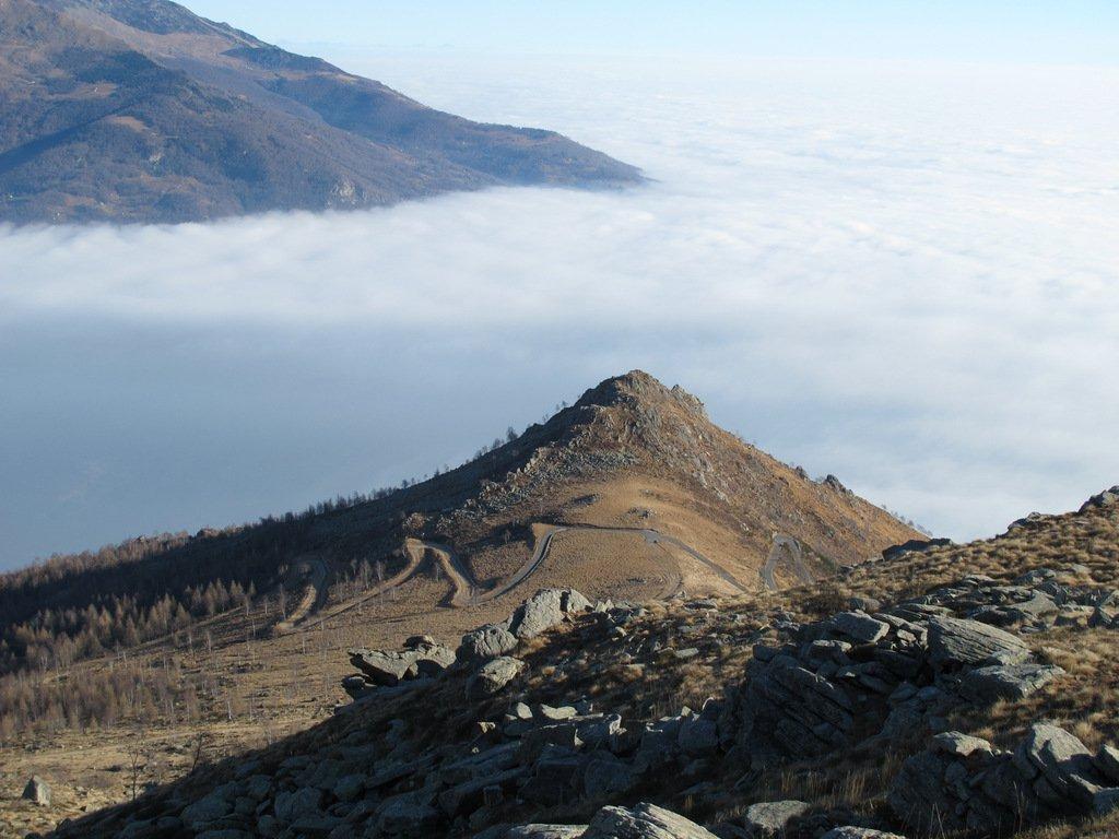 Cavallaria e mare di nubi