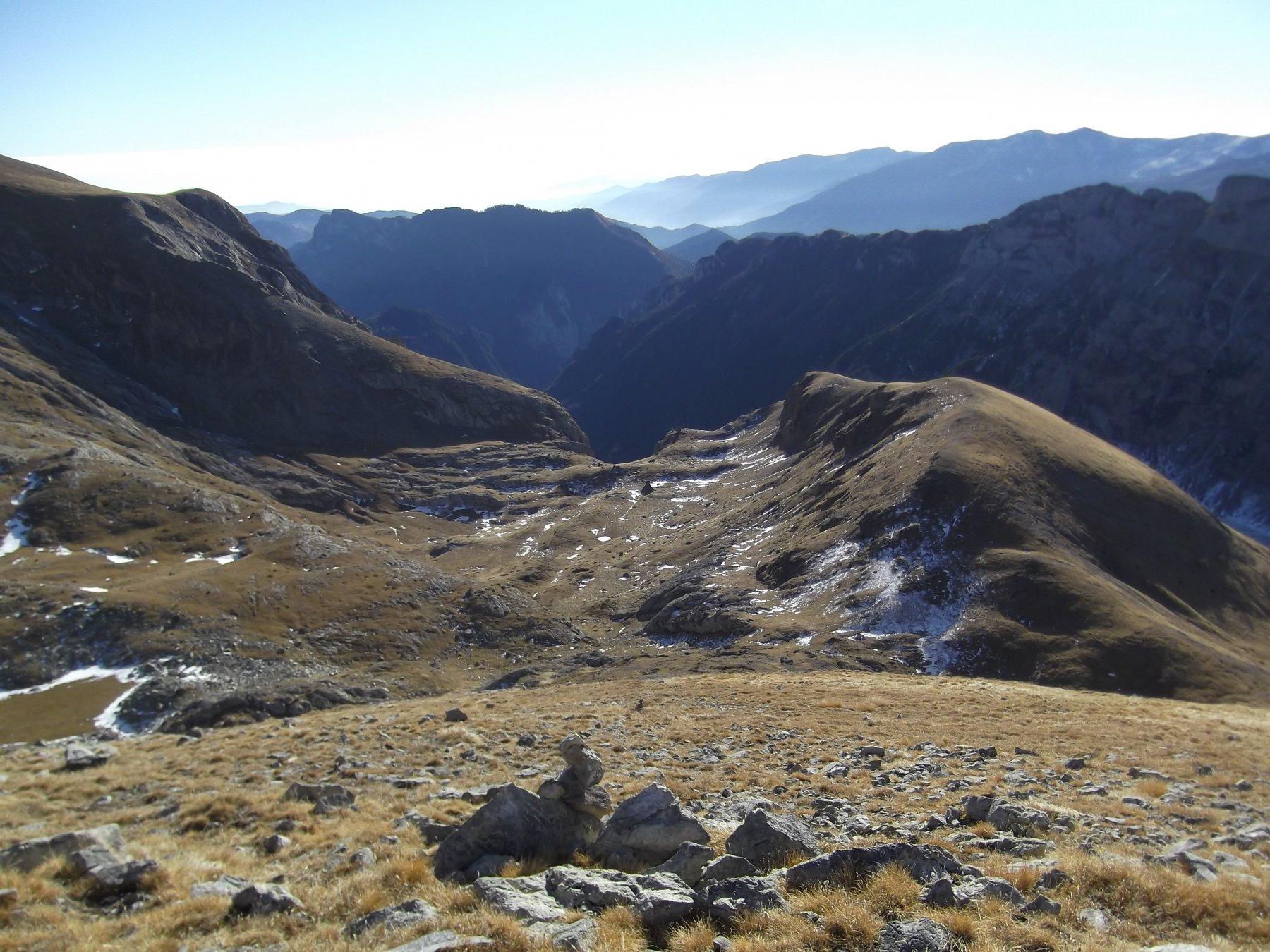 Le Mastrelle viste dalla salita per Cima Palu'.