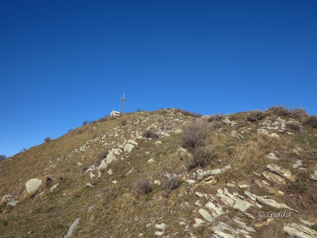 Il crinale verso il Monte Grande