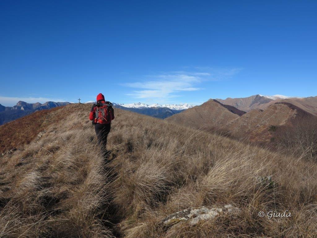 Verso il Monte Fenaira
