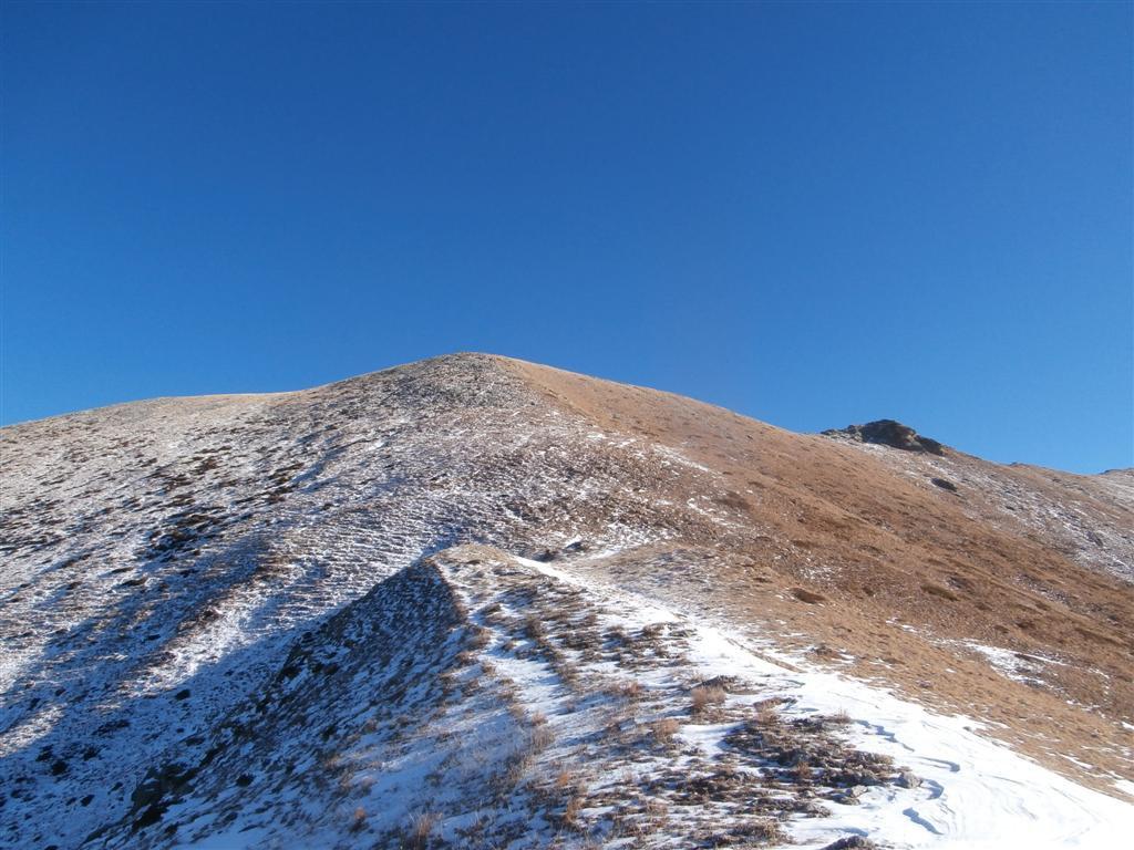 dorsale senza neve