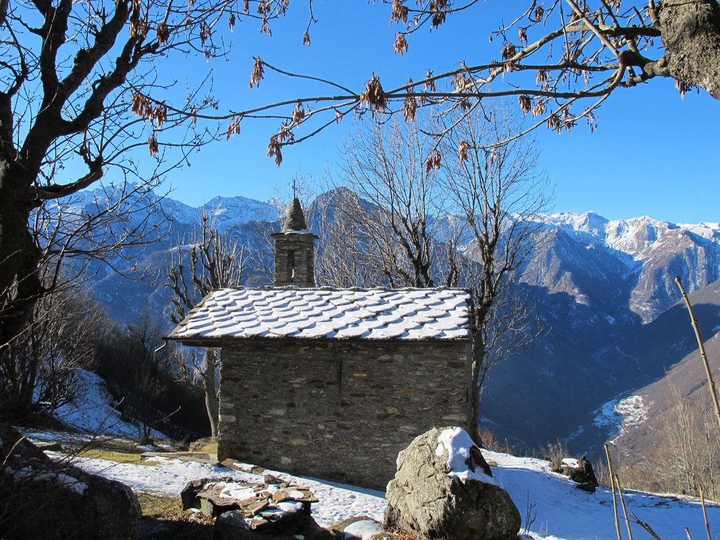 La chiesetta di Verale