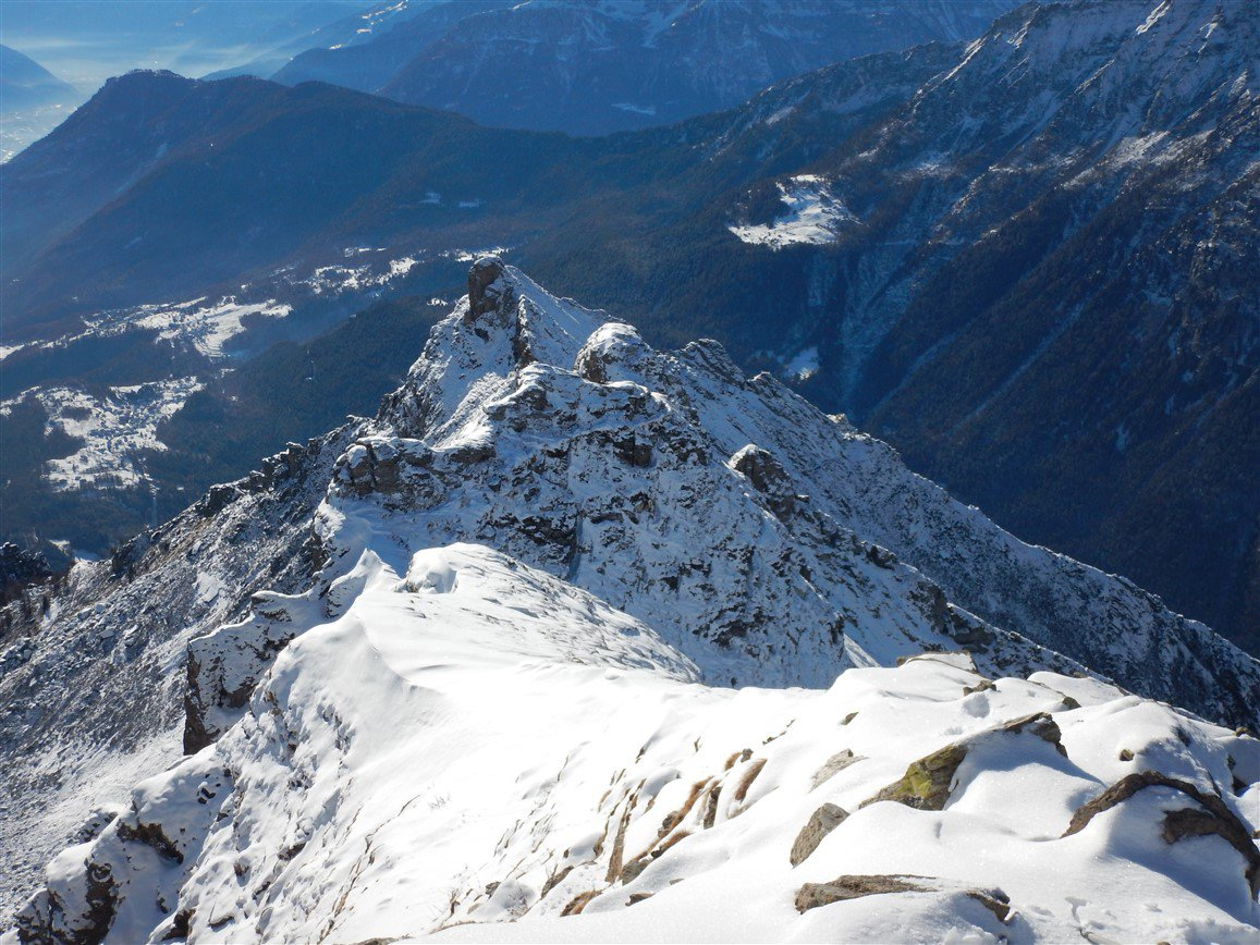 Gorio (Monte) e Loccia del Robbi da Altoggio, per l'Alpe Spotigene 2016-01-06