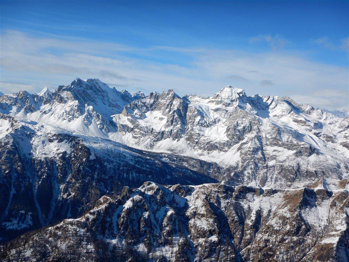 Helsenhorn, Pizzo Cornera e Monte Cervandone
