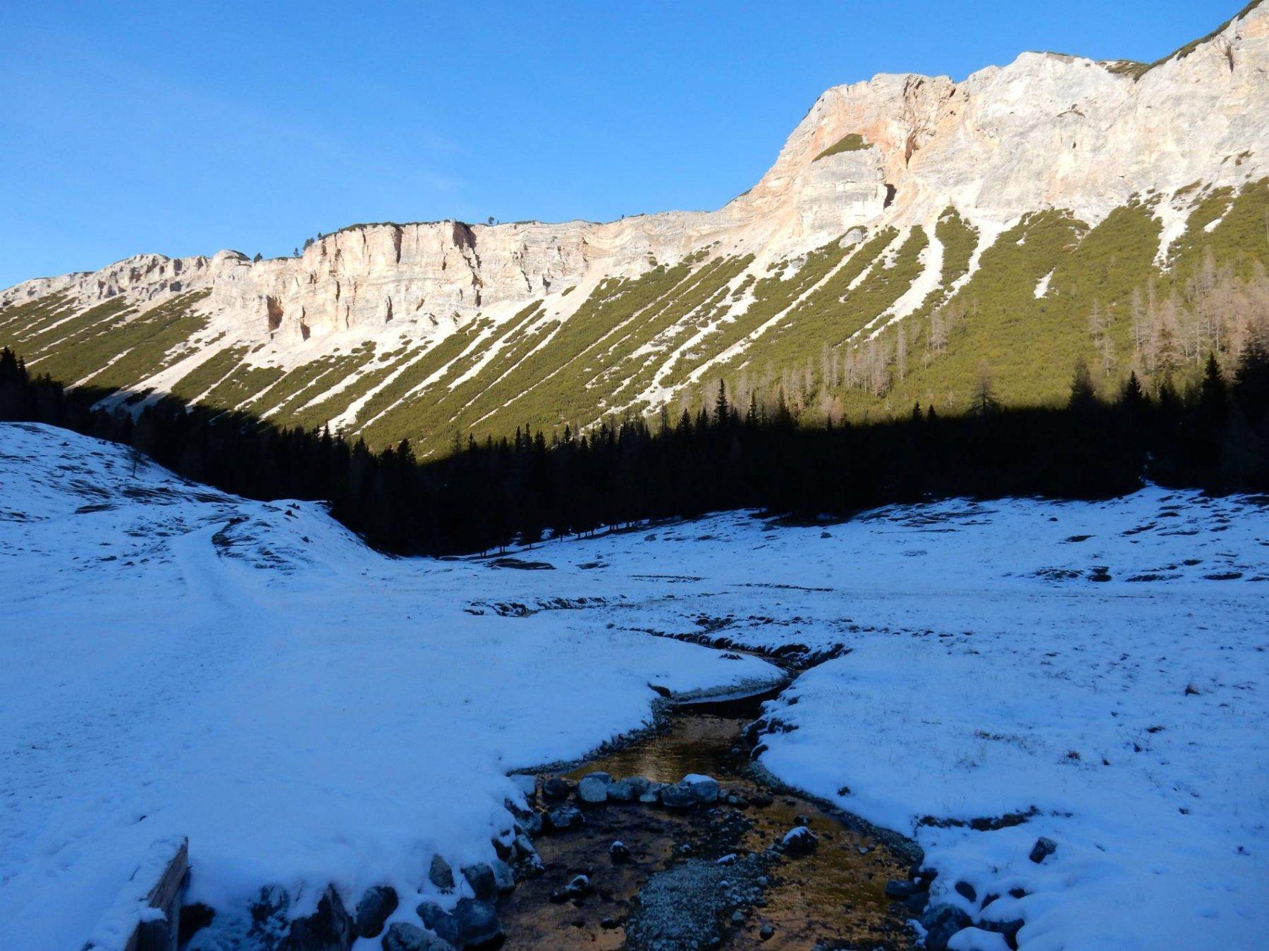 Il canyon della Val Salata.