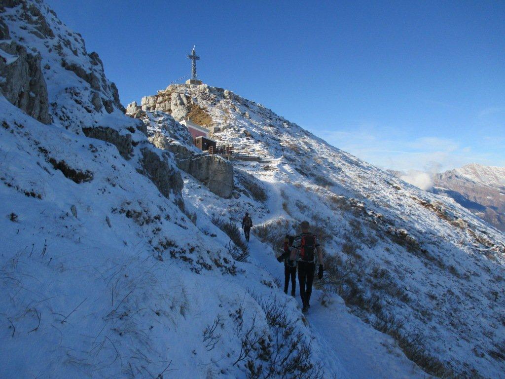 Resegone - Punta Cermenati da Fuipiano, per la cresta dei Tre Faggi 2016-01-06