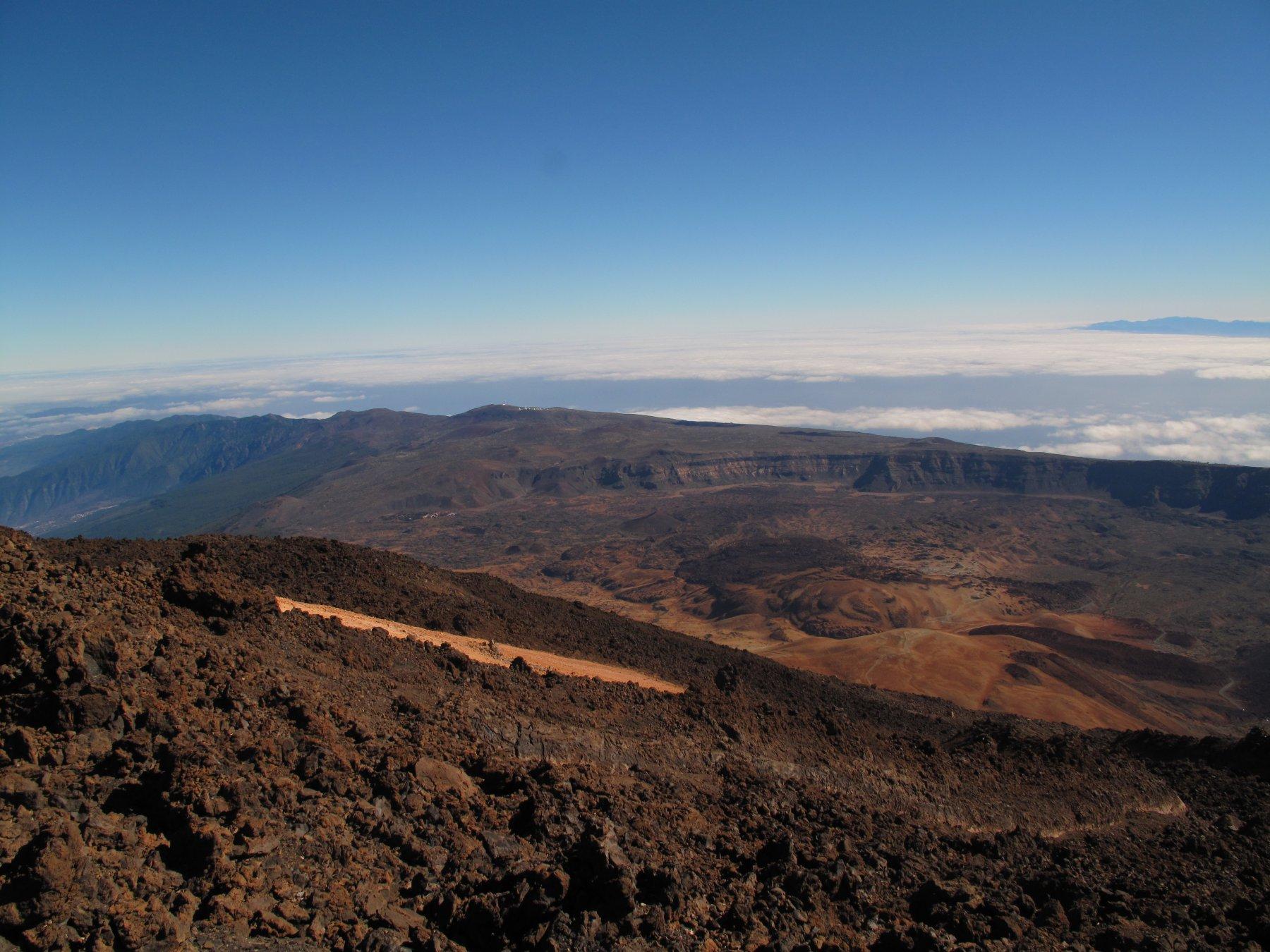 Las canadas del Teide