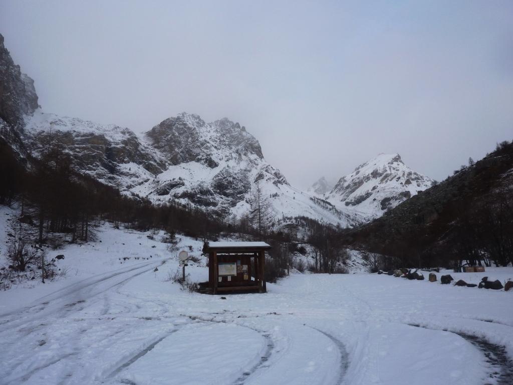 situazione alla partenza verso la valle del Maurin