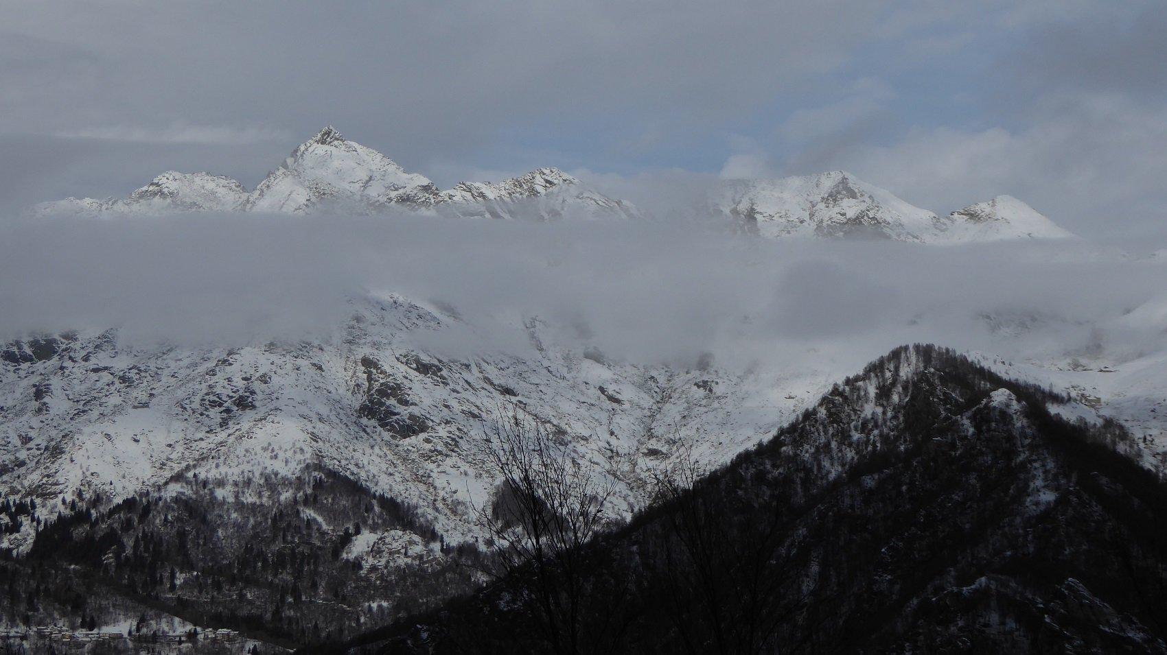 Monte Colombo dal Truc Bose