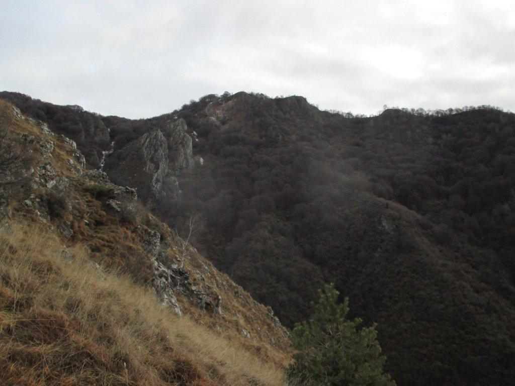 Monte Crocetta dal sentiero di salita