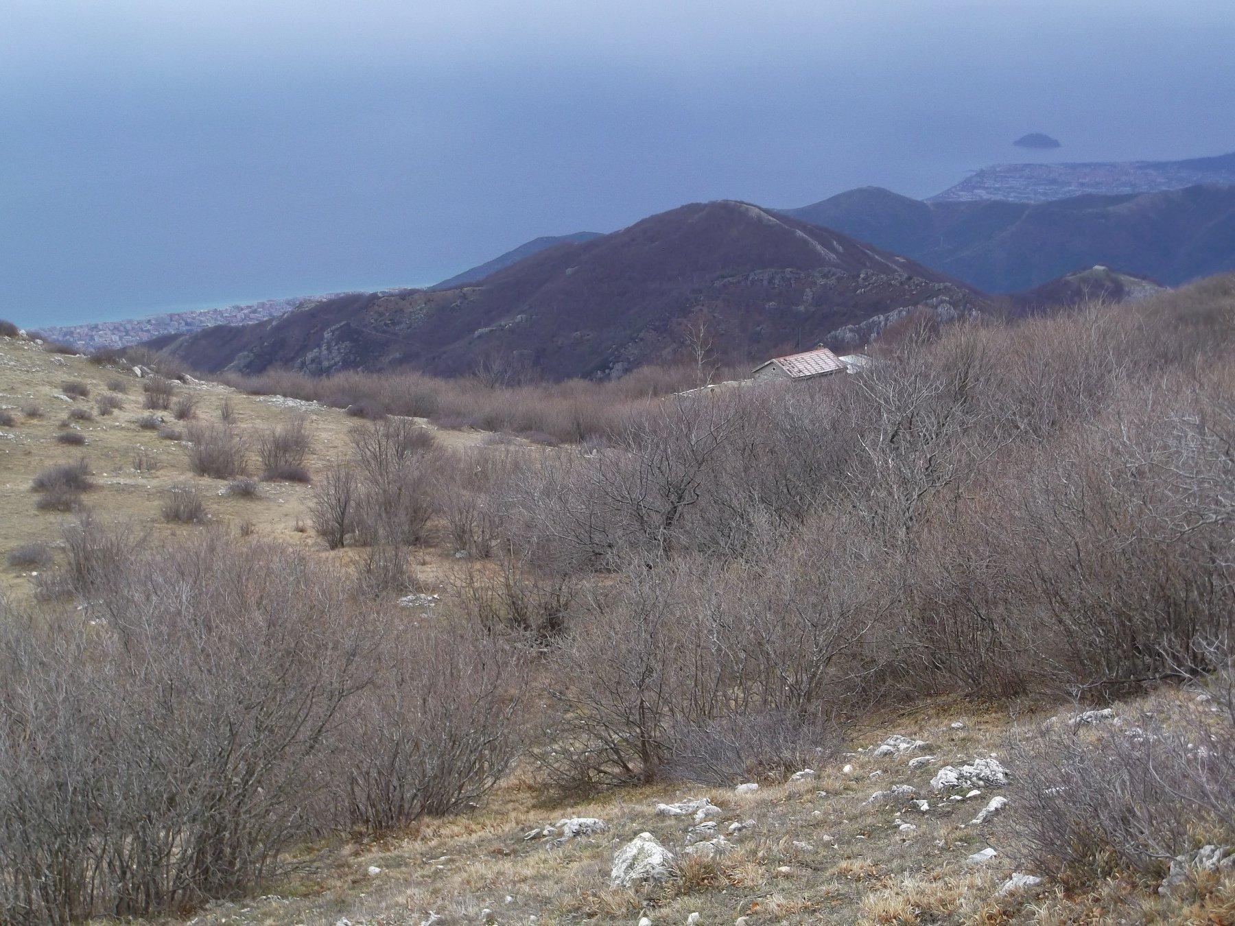 Il Monte Ravinet dal Carmo.