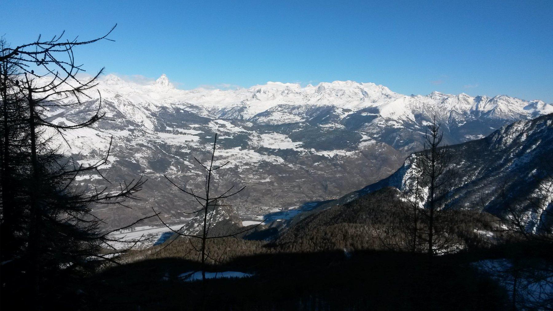 Cervino e Monte Rosa