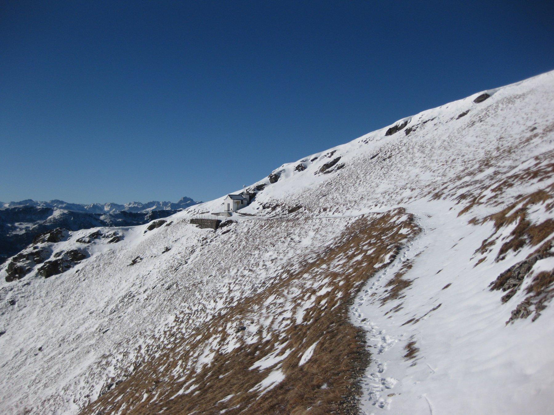 verso la cappella alpina
