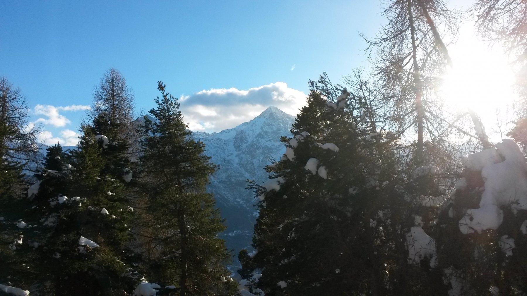 scorcio sul Monte Emilius