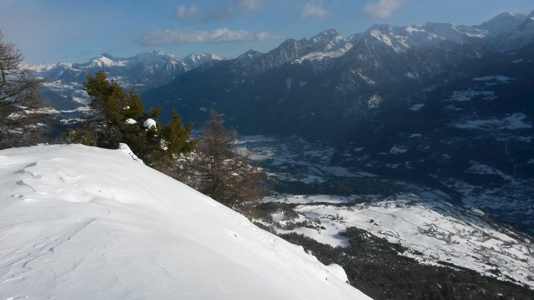 Vista sulla valle Centrale