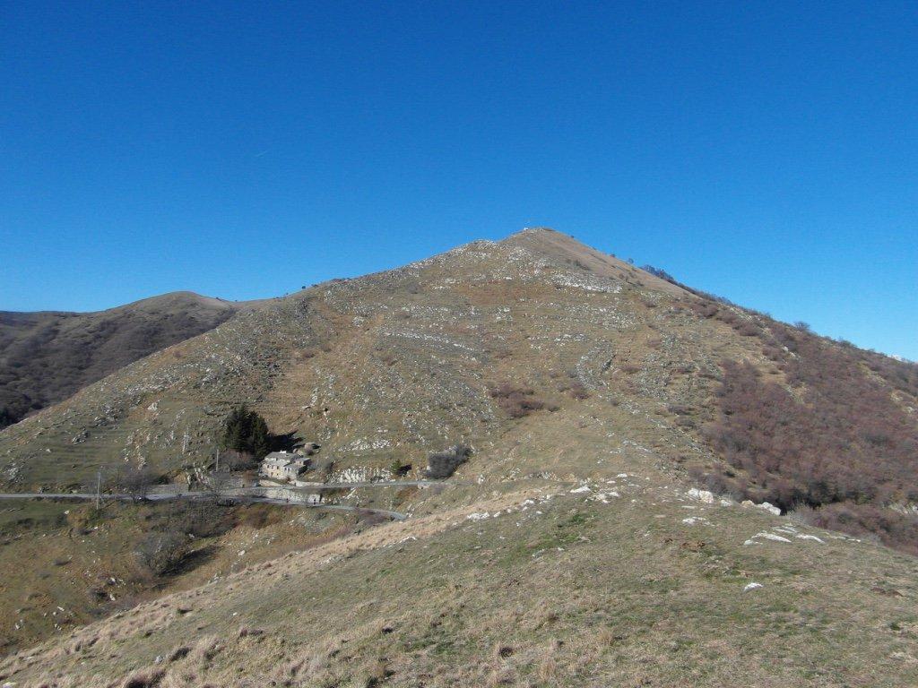 Teglia (Passo) da colle d'Oggia per Monte Grande e Monte Fenaira 2016-01-17