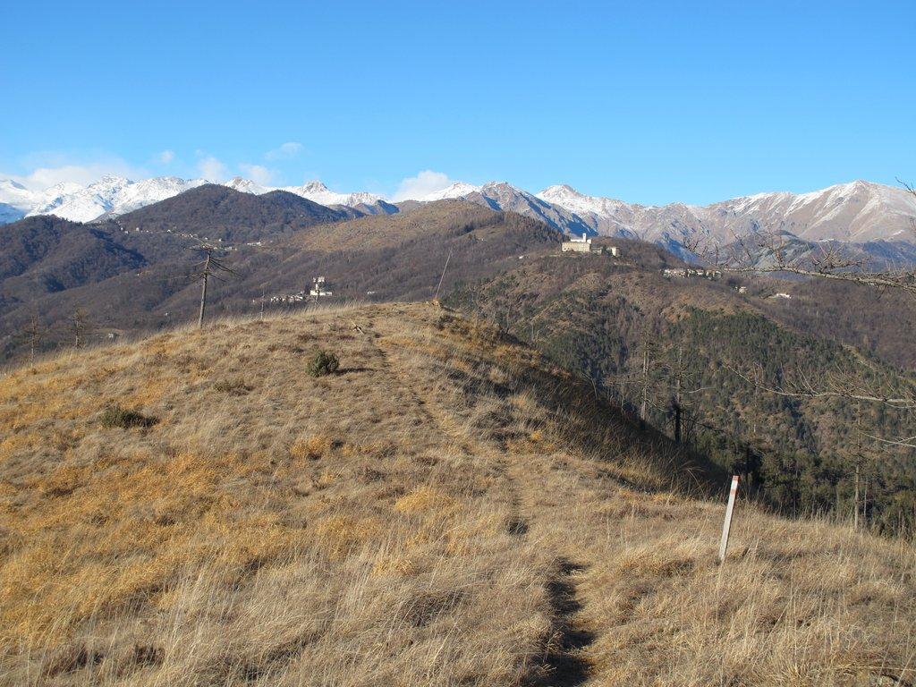 Turu (Il o Monte) da Lanzo, anello per il Monte Corno e Germagnano 2016-01-17