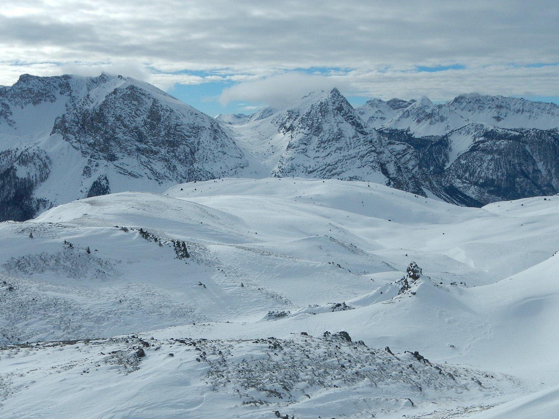 dalla cima: il Col de Chaude Maison