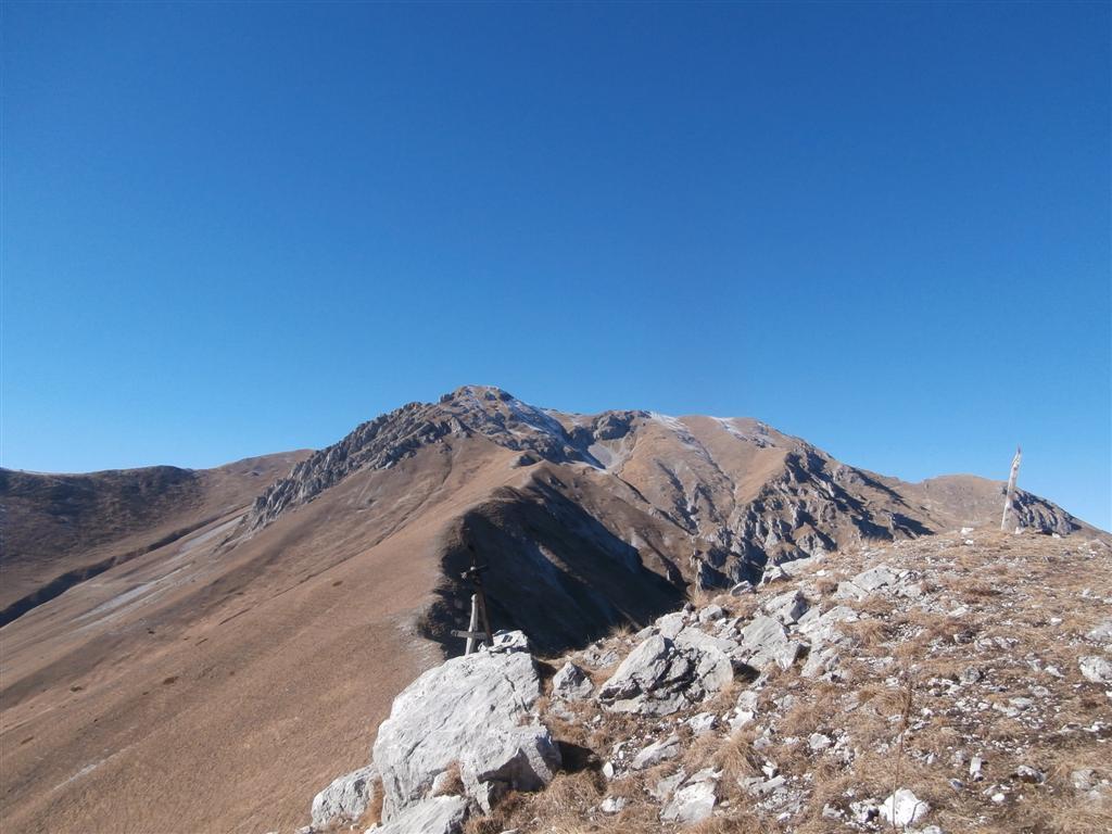 le 2 cime dal monte la Croce