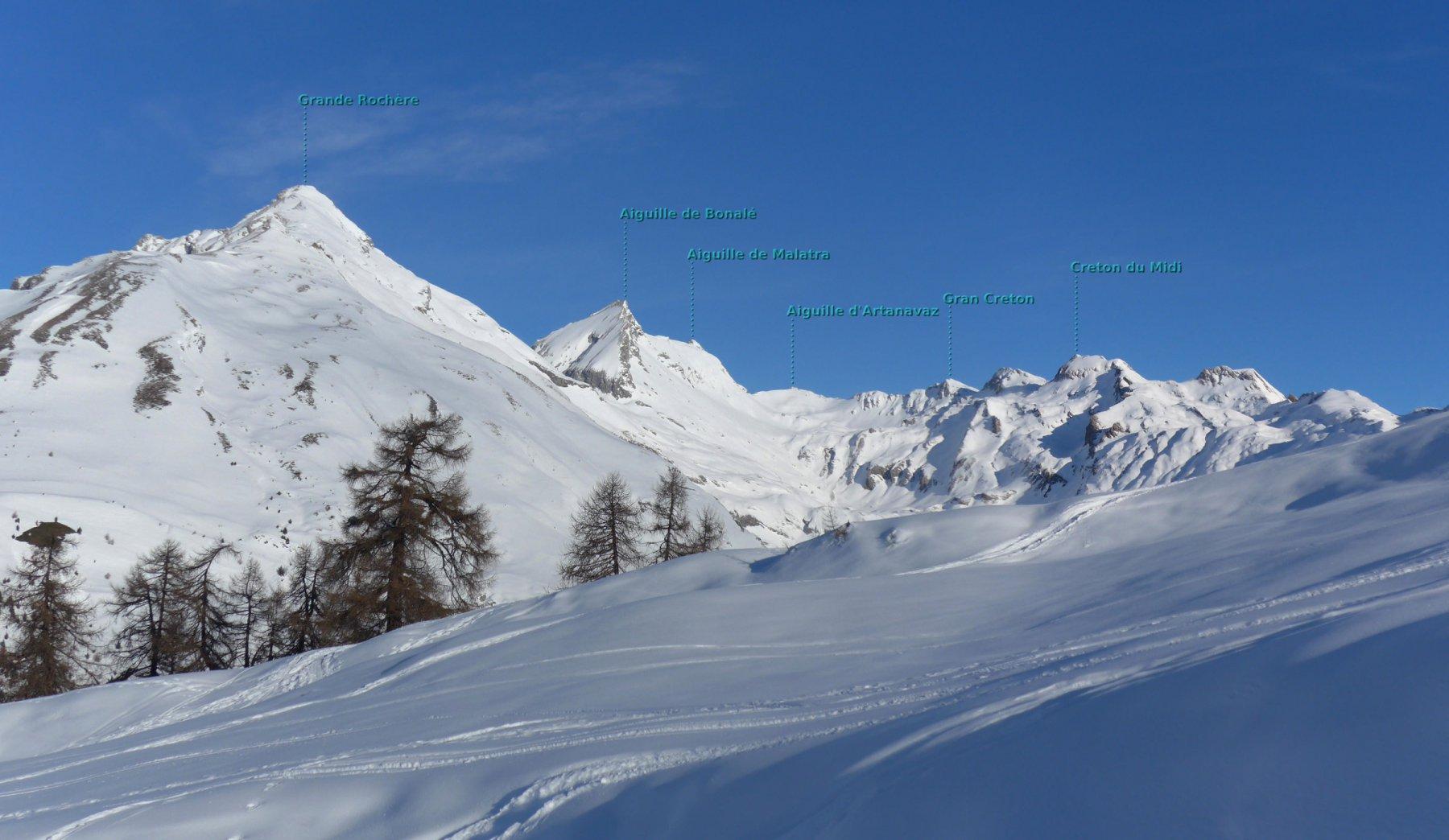 panoramica sul vallone d'Artanavaz
