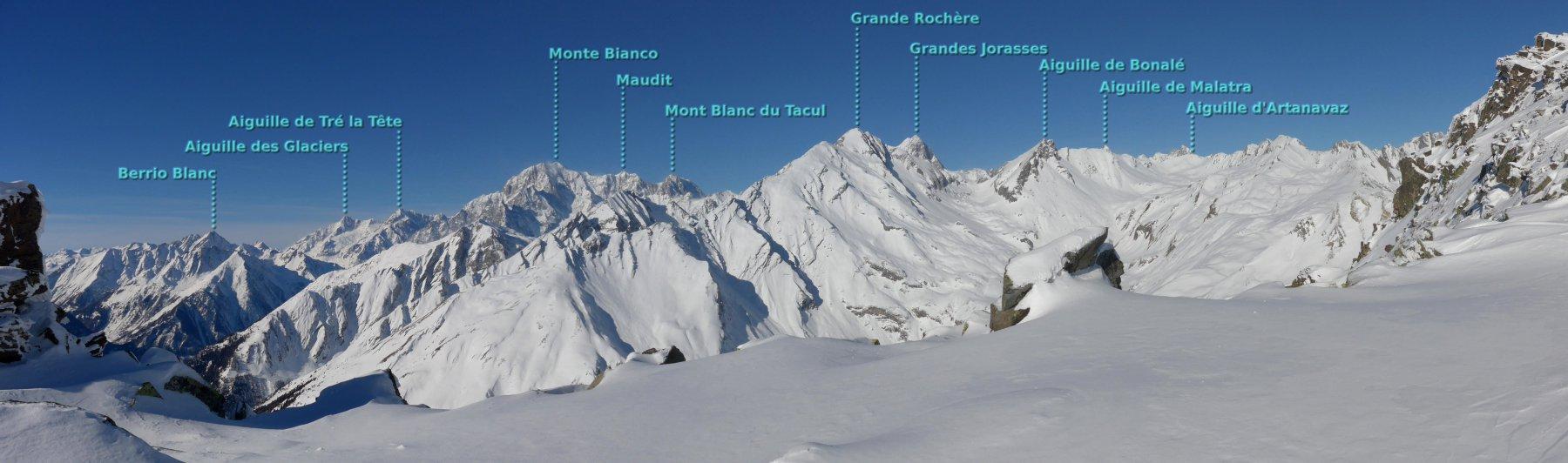 Monte Bianco e dintorni