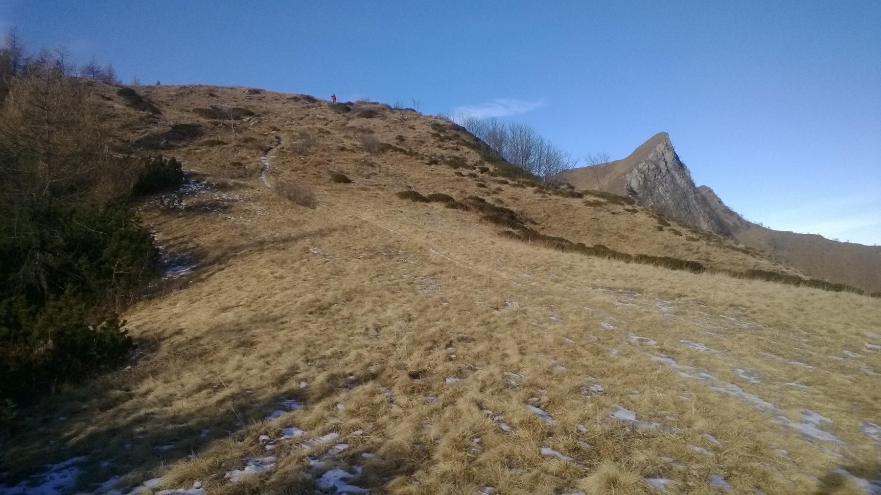 vista dal Colle dell'Ortiga verso la Rocca