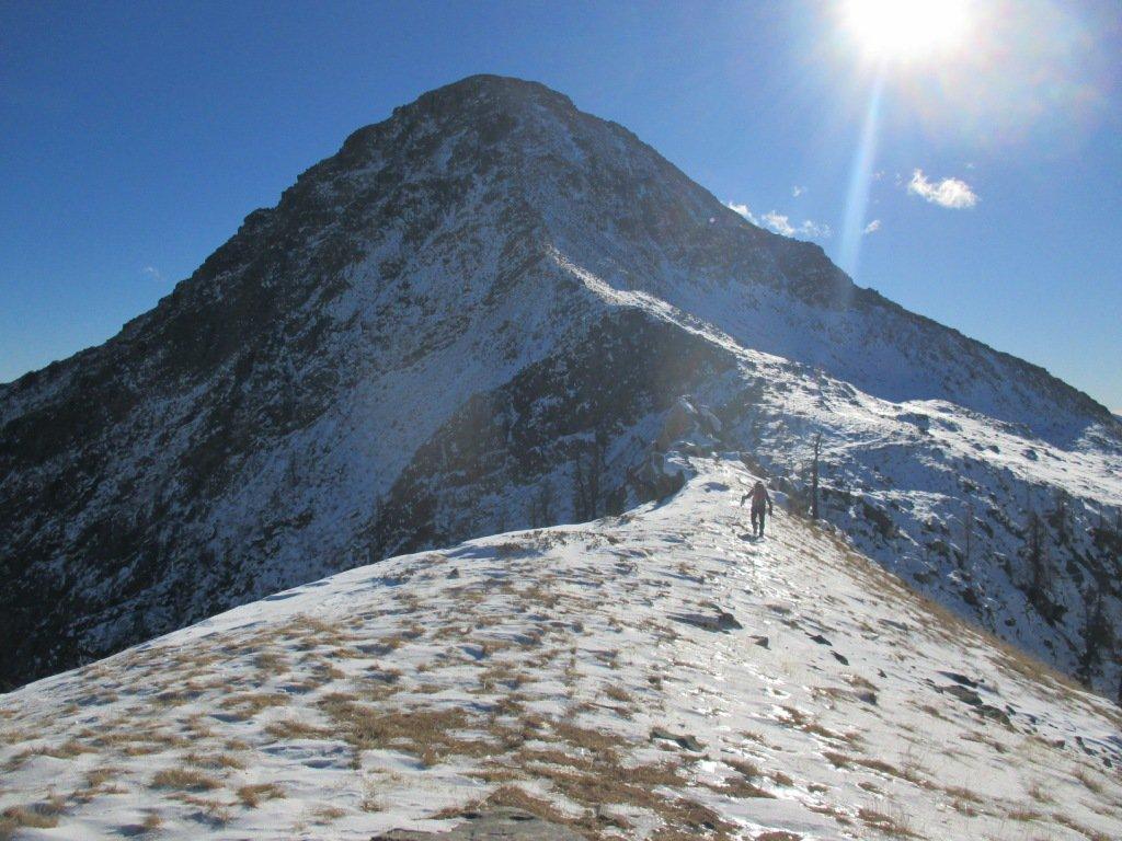 cresta ovest di salita