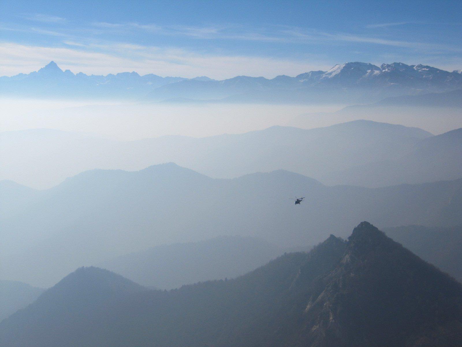 dal Dente Orientale di Cumiana tutte le valli fino al Monviso