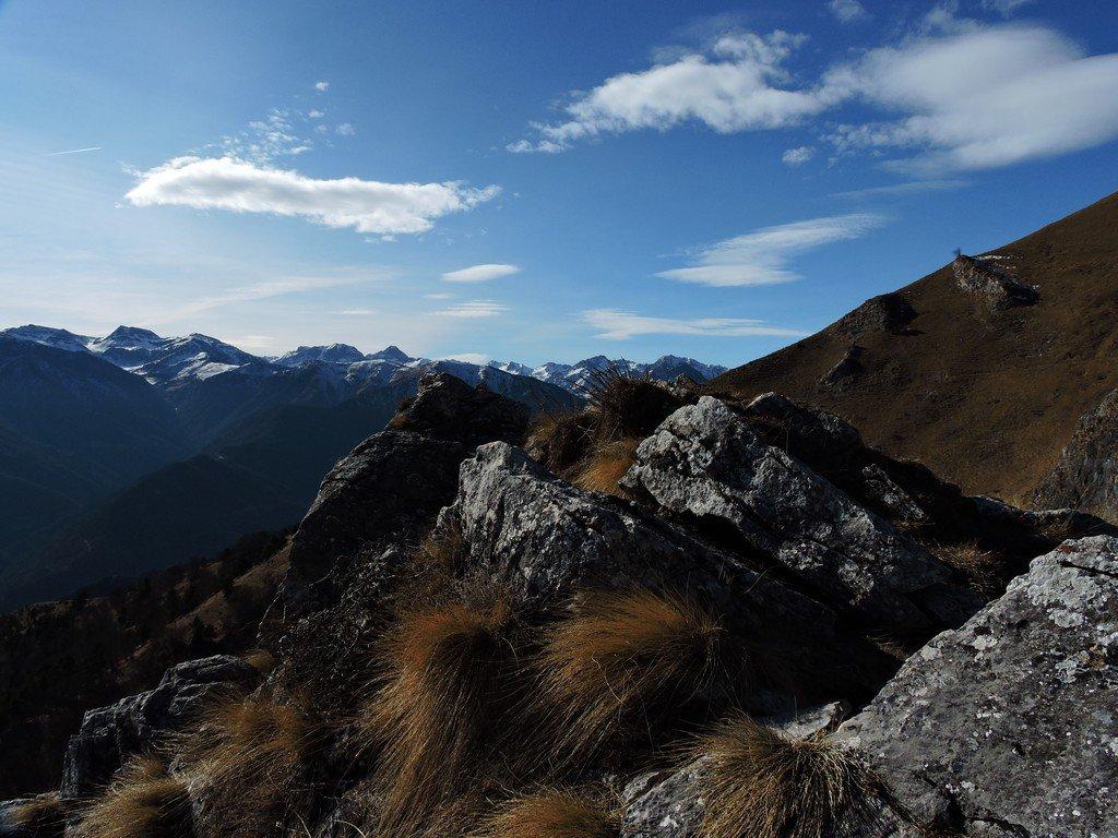 La cima rocciosa